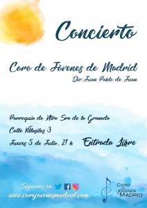 Concierto 5 Julio @ Parroquia de Nuestra Señora de la Granada   Madrid   Comunidad de Madrid   España
