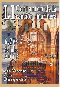LI Certámen de la Canción Marinera @ Iglesia de Santa María de Los Ángeles, San Vicente de la Barquera   San Vicente de la Barquera   Cantabria   España